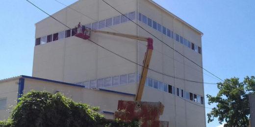 Проектування легкоскидних конструкцій для підприємств з підвищеною вибухопожежонебезпечністю.